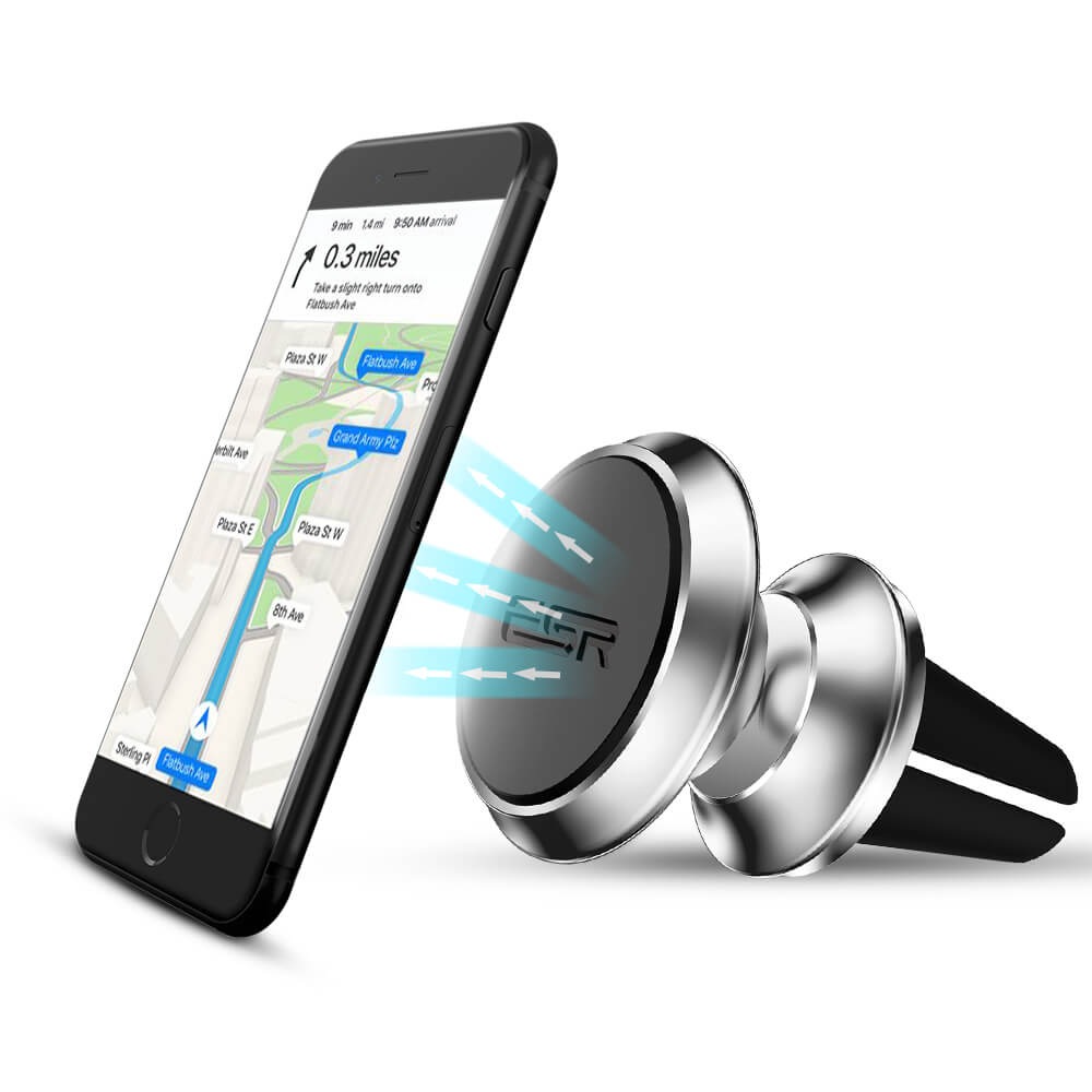 ESR Magnetic Air Vent Phone Holder Silver